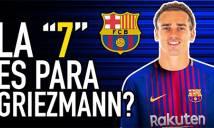 Griezmann sẽ nhận áo số 7 của Coutinho ở Barca