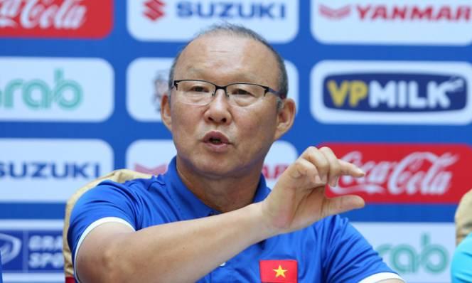 Thầy Park tự tin tuyên bố : 'Đã xác định vô địch thì cần gì phải e ngại đối thủ nào'