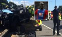 Sao Premier League phải nghỉ thi đấu vì tai nạn xe