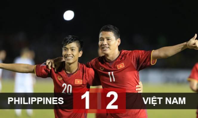 Philippines 1-2 ĐT Việt Nam: Ngày của song Đức