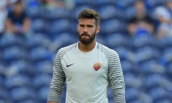 Liverpool hứng 'gáo nước lạnh' của Roma về vụ chiêu mộ Alisson