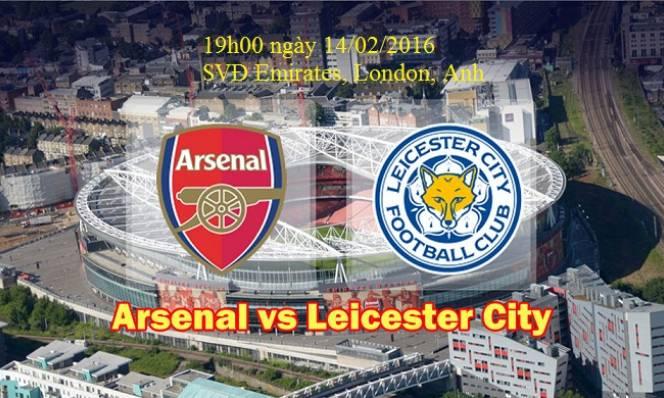Arsenal vs Leicester City, 19h00 ngày 14/02: Bầy cáo thành tinh