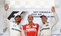 Hamilton bị phạt, dâng chức vô địch vào tay Vettel