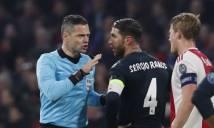 UEFA điều tra hành vi tẩy thẻ của Ramos