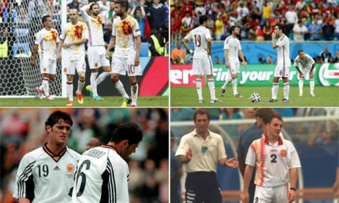 Áo màu trắng đem lại vận rủi cho Tây Ban Nha