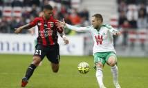 Saint Etienne vs Nice, 02h45 ngày 21/11: Lấy lại ngôi đầu
