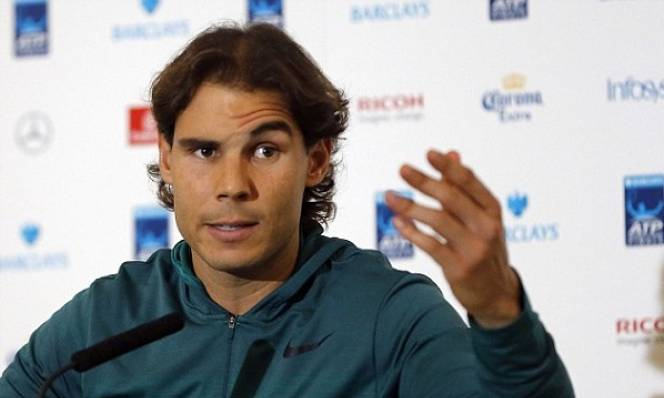 Nadal 'sung sướng' hơn Federer, Djokovic và Murray