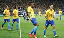 Thắng dễ Paraguay, Brazil đặt một chân đến World Cup 2018