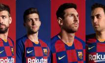 Barcelona ra mắt áo đấu mới lạ hoắc nghi án đạo nhái áo ĐT Croatia