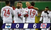 Kết quả bóng đá hôm nay: Bayern Munich nghiền nát nhược tiểu, hùng dũng vào bán kết Cúp QG