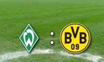 Werder Bremen vs Dortmund, 21h30 ngày 21/01: Cách biệt tối thiểu