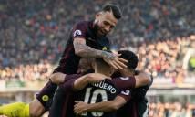 Ngược dòng thành công trước Burnley, Man City tạm thời vươn lên ngôi đầu bảng