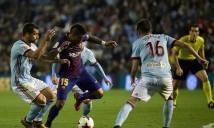 Nhận định Barcelona vs Celta Vigo 03h30, 12/01 (Lượt về Vòng 1/8 - Cúp Nhà Vua Tây Ban Nha)