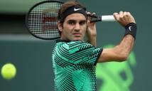 Cứu hai match-point ngoạn mục trước Berdych, Federer vào bán kết Miami Open