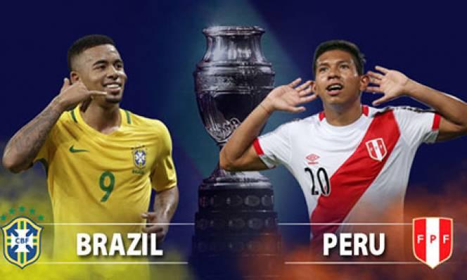 Nhận định bóng đá Brazil vs Peru, 03h00 ngày 08/07:Thiên đường vẫy gọi