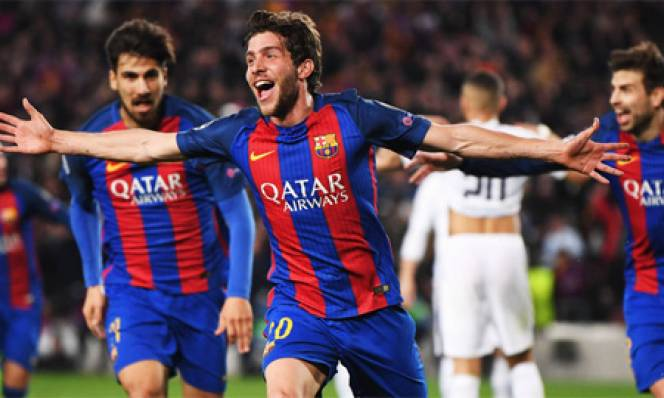 Thua 0-3 ở lượt đi, Barca đã từng 3 lần đi tiếp