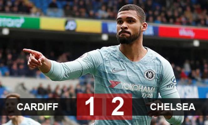 Cardiff 1-2 Chelsea: Hazard dự bị, Chelsea nhọc nhằn giành 3 điểm