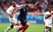 Kết quả Pháp 1-0 Peru: Gà trống tiễn Peru về nước