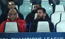Lý do nào Messi phải ngồi dự bị ở đại chiến với Juventus?