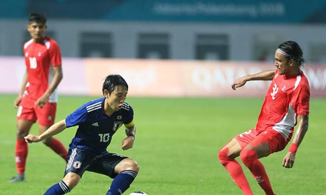 Thắng sát nút Nepal, Olympic Nhật Bản đứng thứ nhì sau Việt Nam