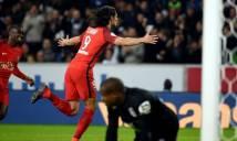 Vòng 11 Ligue 1: PSG, Lyon thắng nhẹ, Monaco hụt hơi