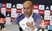 Zidane bất ngờ 'xem nhẹ' trận El Clasico