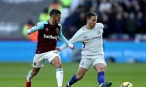 Buộc Hazard, Morata câm nín, West Ham xuất sắc quật ngã Chelsea