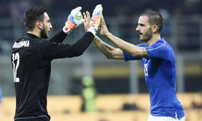 Người Milan sẽ là nòng cốt của hàng phòng ngự Italia