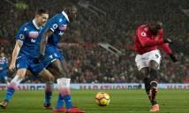 Kết quả Man Utd - Stoke:Pogba thăng hoa, M.U quyết bám đuổi Man City