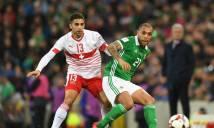 Nhận định Thụy Sỹ vs Bắc Ireland 00h00, 13/11 (Lượt về Play Offs - World Cup 2018)