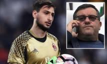 Vì tương lai, Milan sẽ phải đối đầu với 'siêu cò' Raiola