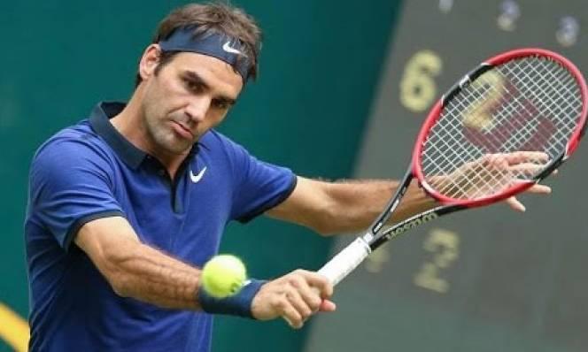 Federer dễ dàng vào tứ kết Halle Open
