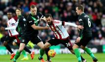 Stoke City vs Sunderland, 21h00 ngày 15/10: Nhì đấu nhất