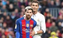 Pique: 'Ronaldo hay nhất năm, Messi giỏi nhất lịch sử'
