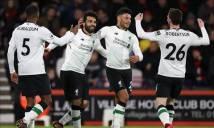Hủy diệt Bournemouth, Liverpool đi vào lịch sử EPL