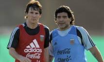 Maradona lên tiếng về tin đồn 'đâm sau lưng' Messi