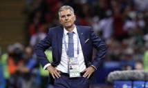 Bị VAR từ chối bàn thắng vào lưới Tây Ban Nha, một thành viên của Iran ngất xỉu