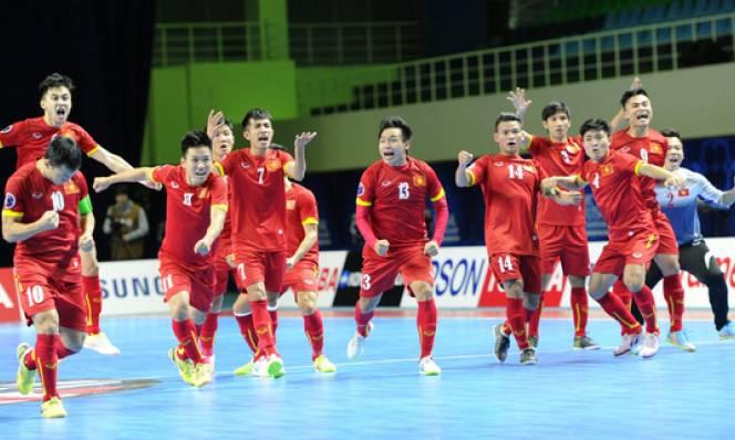 Futsal không được đề cử sự kiện thể thao tiêu biểu 2016