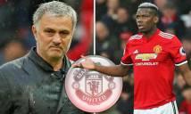 Mourinho ra 'tối hậu thư' cho Pogba: 'siêu cò' hoặc MU