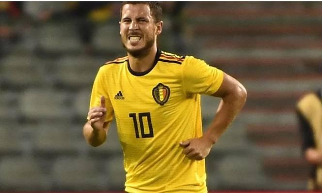 Hazard chấn thương sau trận giao hữu với Costa Rica