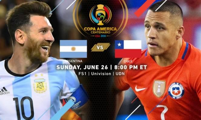 Argentina vs Chile, 07h00 ngày 27/6: Duyên phận ý trời