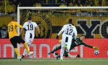 Ronaldo tịt ngòi, Juventus để thua đội bóng Thụy Sĩ