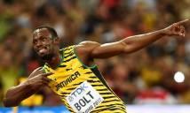Usain Bolt được tôn vinh