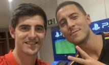 Vui mừng vì Hazard đến Real, Courtoí bị CĐV Chelsea la ó