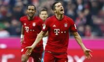 Thắng dễ Schalke, Bayern tiến sát tới ngôi vương Bundesliga