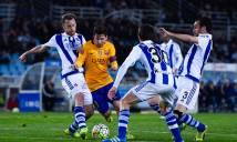 Real Sociedad vs Barcelona, 2h45 ngày 28/10: Hóa giải lời nguyền