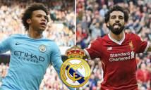 Điểm tin chuyển nhượng 24/4: Real 'đánh cả cụm' Sane, Salah