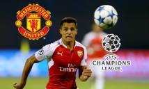 MU sắp nổ bom tấn Sanchez, nhưng có được sử dụng anh ở Champions League?