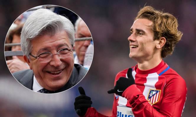 """""""Chúng tôi sẽ mua Neymar và Mbappe vì... Griezmann"""""""