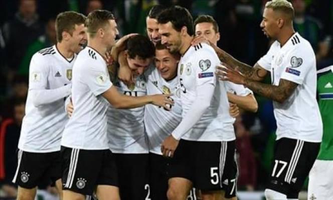 Đức lập kỷ lục siêu khủng ở vòng loại World Cup